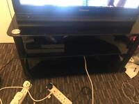 Tv stand glass perfect condition