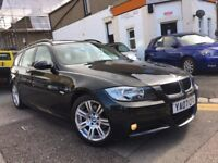 BMW 320i M SPORT TOURING 2007 AUTOMATIC 1 OWNER LOW MILEAGE PANARAMIC ROOF