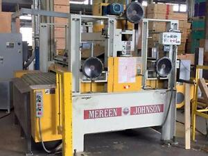 Mereen Johnson 435 H/D C Gang Rip Saw 100HP,460V 3PH