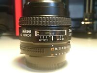 Nikon 28mm f2.8 D AF Lens - excellent condition wide angle FX lens