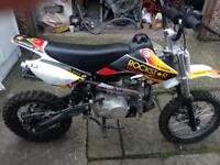 Lifan 125cc pitbike barely used