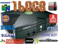 Xbox 160gb Coinops 8 Retro Gaming Setup 4000+ Games