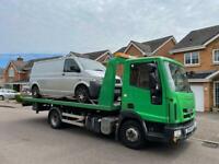 VEHICLE ROADSIDE ASSISTANCE JUMP START SCRAP CAR VAN TRANSPORTER SERVICE VEHICLE RECOVERY