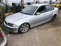 BMW E46 IN FOR BREAKING SPARES PARTS CHELMSFORD ESSEX LONDON