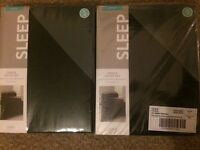 two single bed sets