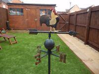 Vintage Iron Garden Weather Vane - In VGC and very heavy
