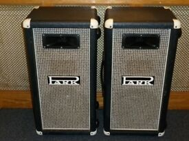 Park 1 x 12 speaker cabinets with horn late 70s