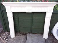 Ornate Plaster Fire Surround