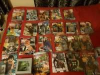 Marvel figurine collection