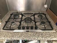 5 BURNER GAS HOB IN GREAT CONDITION