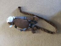 Goldbug Monkey Harness Buddy Rein and Backpack