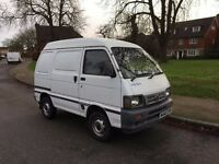 DAIHATSU HIJET PANEL VAN DIESEL IN WHITE VERY RARE ONLY 47000 MILES LONG MOT UNTIL OCTOBER 2017