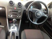 Audi A3 sports back dsg (may swap)