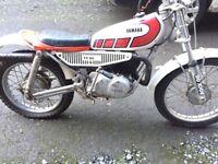 Yamaha Ty80 ty 80 175 kids motorbike 2t two stroke 2 stroke off-road scrambler dirt-bike pit bike