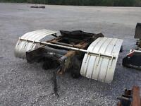 2007 mack rear clip with rockwell axles and pots