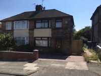 Gregory Way, Childwall L16 - Three bed semi detached house to let, conservatory and off road parking