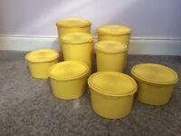 Retro Tupperware containers
