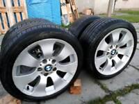BMW WHEELS & TYRES RUNFLAT 225 45 17