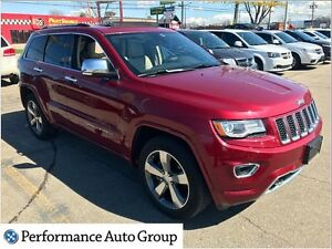 2014 Jeep Grand Cherokee Overland * One Owner * Clean Carproof