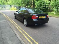BMW 320d leather interior in immaculate condition