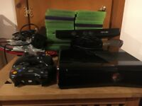 Xbox 360 Kinect and 26 games,