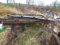 Ferguson 15 stud trailer axle