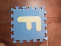 foam alphabet mats. 26 in total.