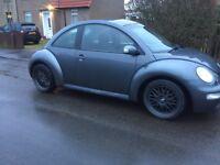 Volkswagen Beetle 1.9 tdi not golf Ibiza etc