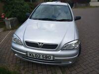 Vauxhall, ASTRA, Hatchback, 2002, Automatic, 1598 (cc), 5 doors