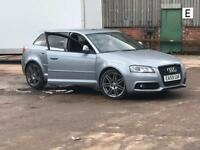 Audi A3 black edition 140bhp hpi clear
