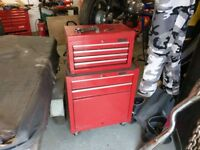 Halfords Tool cab and top box