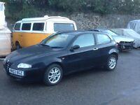 Alfa Romeo 147 1.6L TS 79350K with FSH and 12 Months MOT