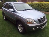 Fantastic Specification 2009 59 Sorento 2.5 CRDI DIESEL XE Auto Diesel 4x4 Leather 68000 Miles FSH