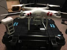Phantom 3 Drone + case + extra battery