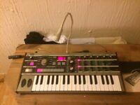Korg MS2000B&MicroKorg studio setup