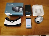 Samsung Galaxy S7 edge SMG935 32GB + Qi wireless fast charger + Gear VR headset