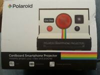 Poloroid Smartphone Cardboard Projector, New