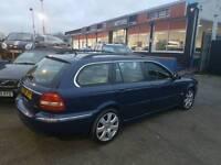Jaguar x Type diesel estate 12 months mot