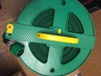 Compact water hose reel
