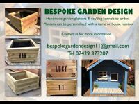 Personalised Garden Planters