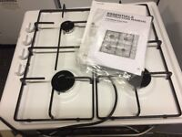Currys Ce White Gas Hob New and Unused