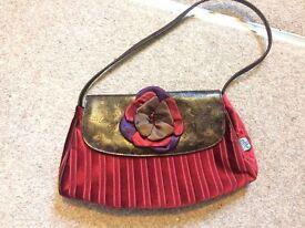 Per Una Evening Red Handbag