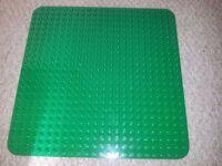 Duplo lego Building Base Plate