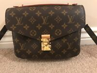Authentic Louis Vuitton Metis Bag With Proof of Purchase