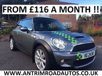 2010 MINI COOPER S 175BHP ** FULL SERVICE HISTORY ** FINANCE AVAILABLE ** ALL CARDS ACCEPTED