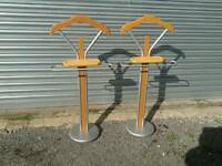 Pair of gents overnight stands