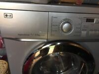 Free or small donation to collect ASAP - LG washer dryer 7kg