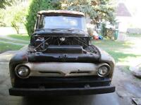 barn fresh 1956 Ford F100 pick up $4850