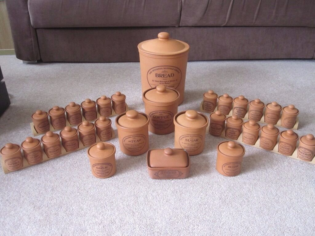 Terracotta Kitchen Pots Henry Watson Pottery 31 Items Originally Costing Over 300