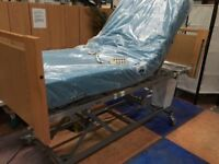 Nursing Care Bed/Electric Hospital Bed/New Mattress/Disability Elderly Bed/Table